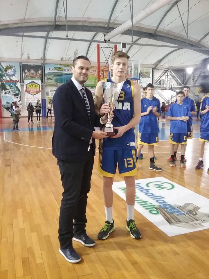 Luka Šamanić MVP turnira