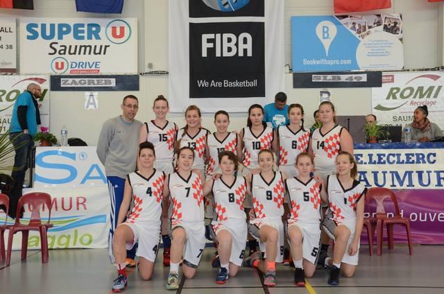 ŽKK Zagreb u Francuskoj