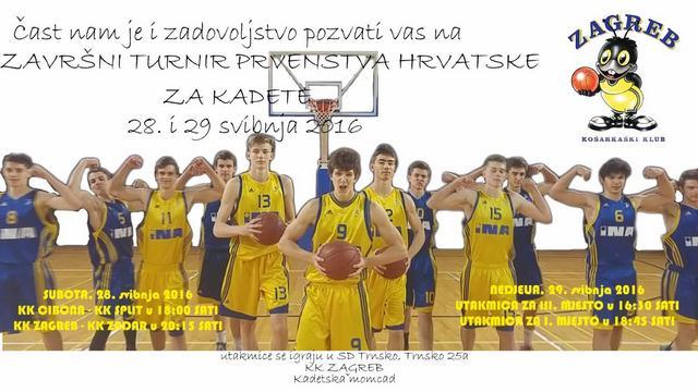 kadeti KK Zagreb