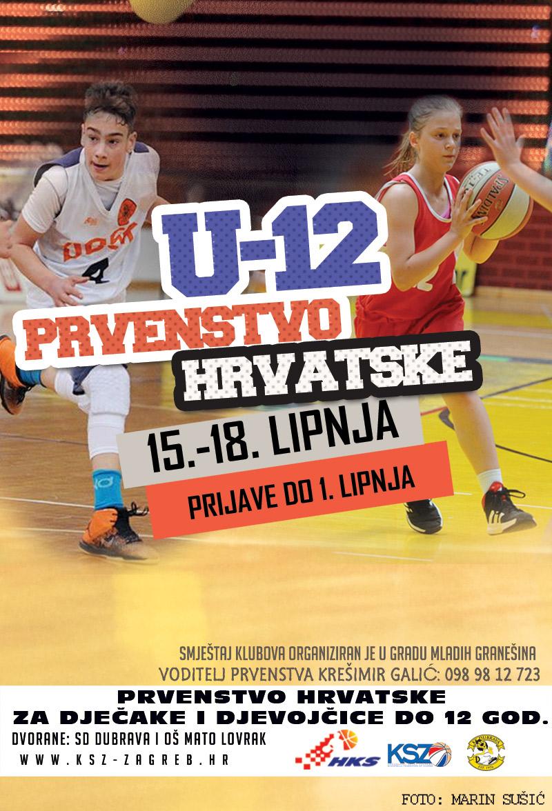 U12 Prvenstvo Hrvatske za dječake i djevojčice