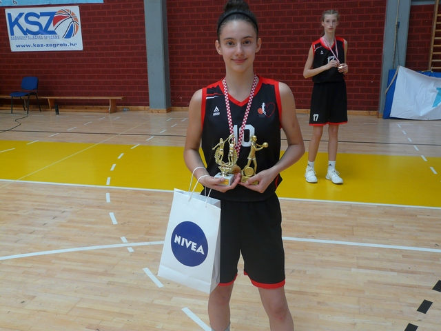 Lana Bešlić MVP i strijlac prvenstva