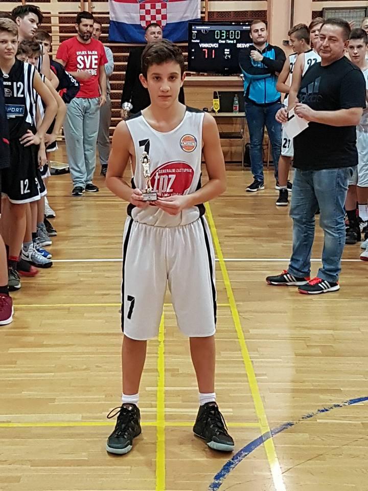 Roko Mišković MVP